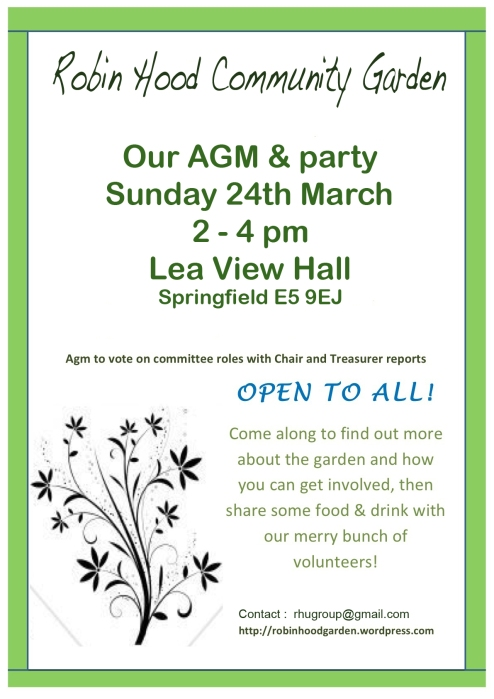 AGM & party